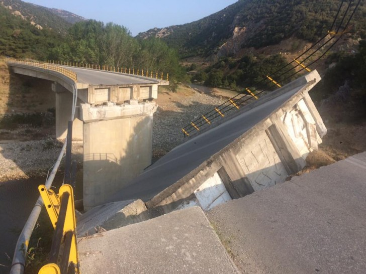 Batı Trakya'da Narlıköy Köprüsü Çöktü!-Batı Trakya Haber