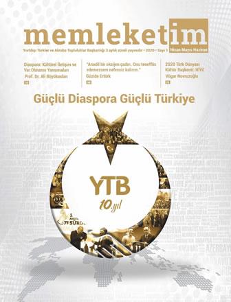 YTB Memleketim Dergisi - Güçlü Diaspora Güçlü Türkiye